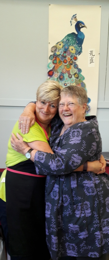 Claire with Pauline - Knuston 18 August 2017.jpg
