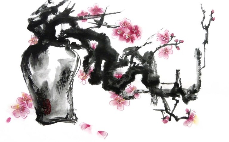 Plum Blossom by Claire Seaton