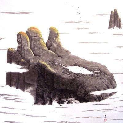 Buddha Mountain - Paul Maslowski 2006
