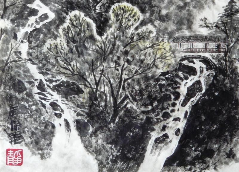 Memories of Mt. Emei - detail - Paul Maslowski 2008