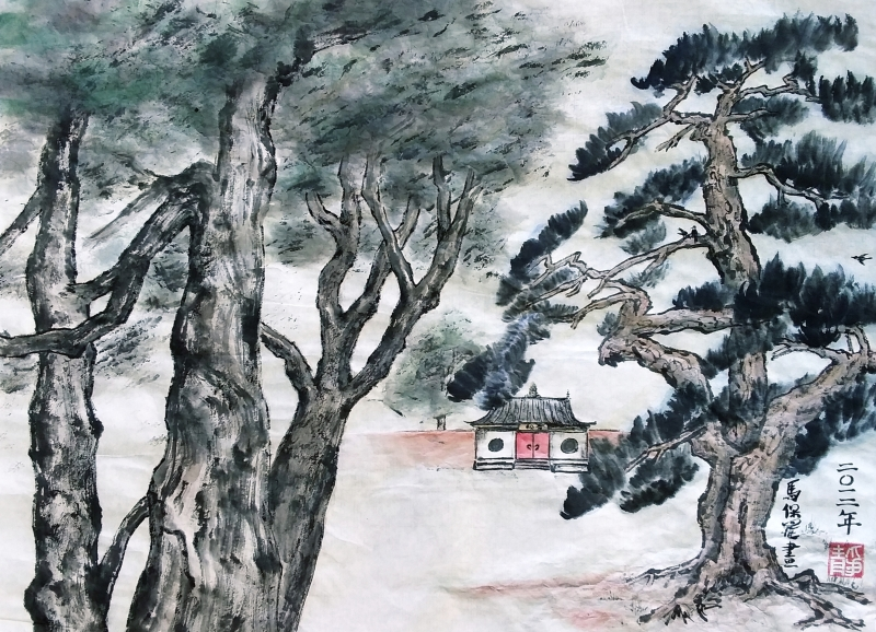 Pine Temple after 3 Zhengs by P Maslowski 2012 - 20