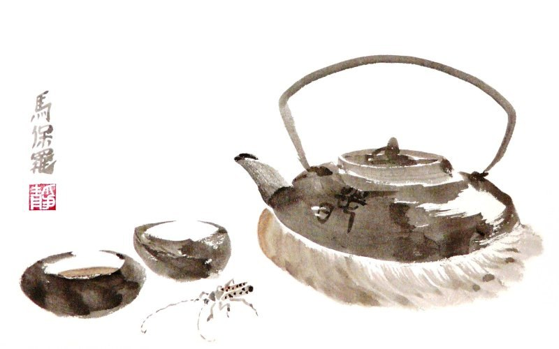 Tea for two by Paul Maslowski 2010 Oct 04