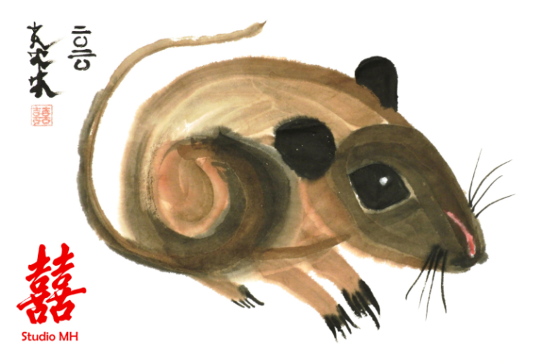 Year of the Rat by Claire Seaton 2020