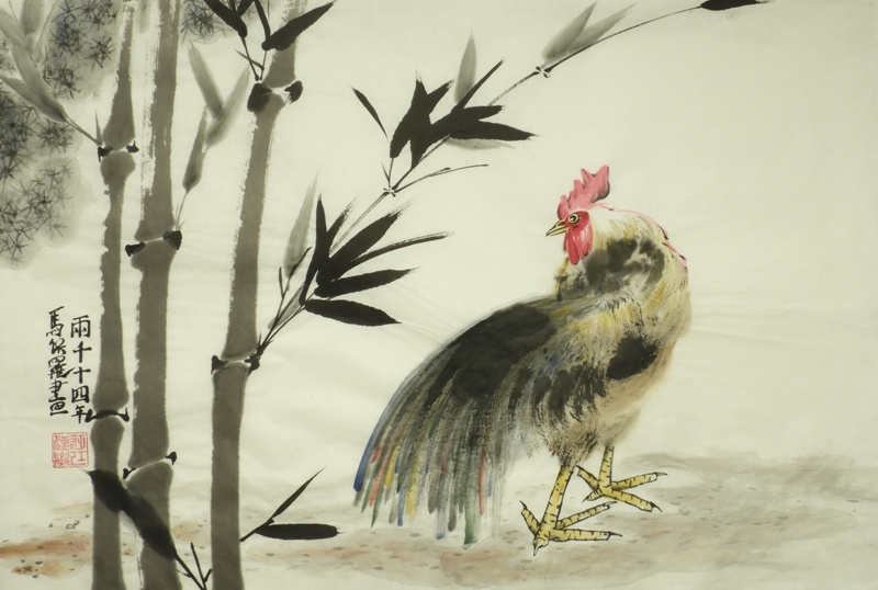 The Rooster starts to turn by Paul Maslowski 2014