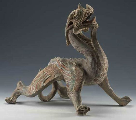 Han Dynasty Dragon sculpture