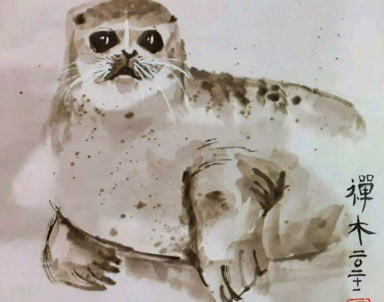 Baby Seal - Claire Seaton 2021