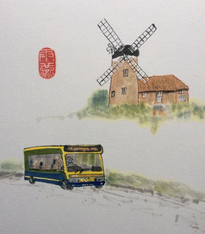 Coasthopper 1 Cley Windmill - Pat Jones 2021