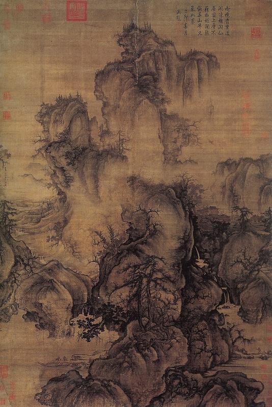 Early spring - Guo Xi 1072 158x108cm