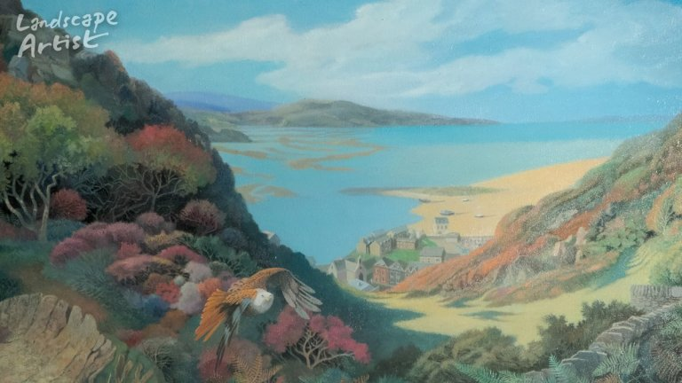 2021 Landscape Artist of the Year Winner - Dinas Oleu - Ophelia Redpath