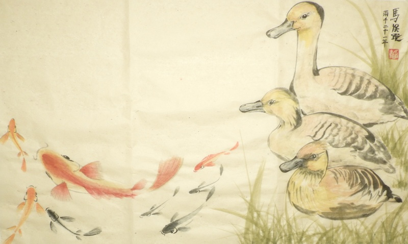 Ducks and Fish - P Maslowski 2021
